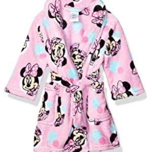 Disney Minnie Mouse Pink Fleece Robe 2T